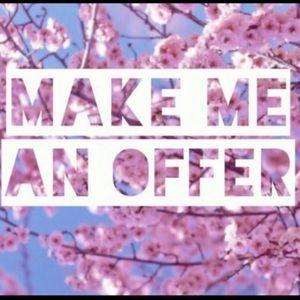 Make an offer🥳👯♀️